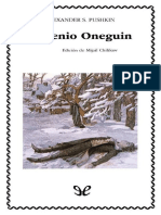 Eugenio Oneguin (Ed. de M. Chilikov)- CATEDRA