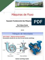 3- Equação Fundamental Das Maquinas de Fluxo