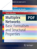 Multiplex Networks 2018