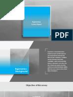 Ergonomics Survey Presentation 11 Slides