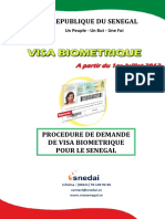 Procedure Demande de Visa Sn