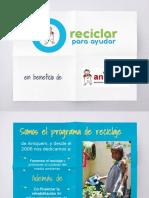 Presentación_Reciclar Para Ayudar 2018