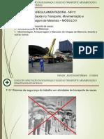 Nr- 11 Movimentação de Cargas Modulo II