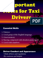 Qualities of Drivers