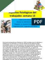 Gestion de La Construccion - Aspectos Fisiologicos Del Trabajador