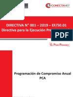 Directiva de Ejecucion Presupuestal 2019 Final