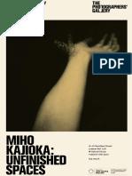Miho Kajioka Catalogue