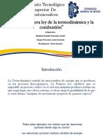 2.1 Primera Ley de La Termodinamica