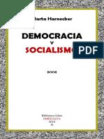 Democracia y Socialismo. Marta Harnecker