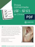 Prova comentada USP R3