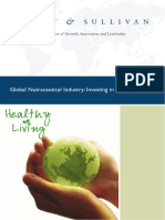 Global Nutraceutical Industry