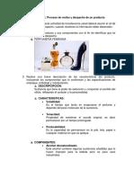 Proceso de Recibo y Despacho de Un Producto- FERRO,,