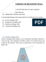 Chapter-IV-Design of Retaining Wall