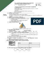 Cuestionario de Biologia