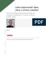 Comunicación Empresarial_ Tipos, Características y Errores Comunes