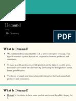 Lesson 16 - Demand