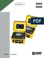 AEMC-6550-6555-Manual