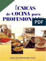 Tecnicas de Cocina Para Profesionales