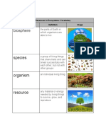 marlene lopez - resources in ecosystems   vocabulary