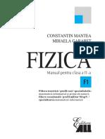 Manual Fizica XI Mantea