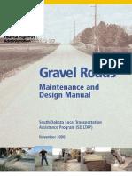 Gravel Roads Maintenance and Design Manual