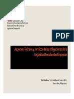 Aspectos Teóricos y Jurídicos de Las Obligaciones de La Seguridad Social en Las Empresas [Modo de Compa