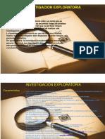investig. exploratoria