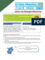 Consumo y Ahorro de Energía Eléctrica Para Cuarto de Primaria