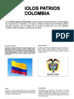 Simbolos Patrios Colombia