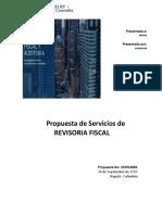 Propuesta Revisoría Fiscal