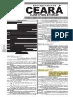 Lei 16.839 - Criação Da Plataforma de Acompanhamento de Obras Públicas - Ce