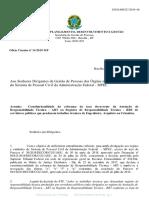OFÍCIO CIRCULAR Nº 24 - 2019 - MP - Obrigatoriedade de ART e RRT Por Servidores Públicos