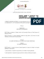 Lei Ordinária 94 1976 de Niterói RJ