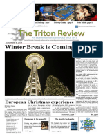 The Triton Review, Volume 31 Issue 5, Published December 8 2014