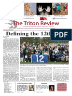 The Triton Review, Volume 31 Issue 6, Published January 30 2015