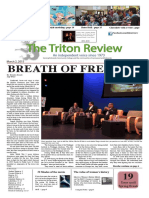 The Triton Review, Volume 31 Issue 8, Published March 2 2015