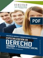 Derecho Laboral Seguridad Social
