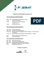 3 - Proposta de Programa Da Fiebat 2019 2