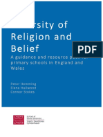 Diversity of Religion and Belief - A Guidance and Resource Pack for Primary Schools in England and Wales