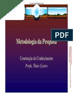 Metodologia Da Pesquisa [Somente Leitura]