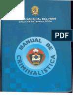 Manual de Criminalistica Perú.