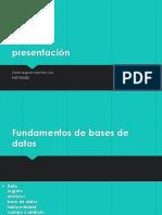 Base de Datos Tarea 1