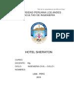 Monografia h.sherATON