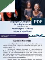 2 Arte Indígena Pintura Corporal e Grafismo