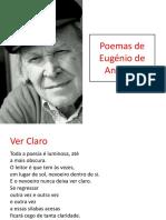 Poemas de Eugénio de Andrade