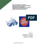 Teoria de Restriccion Empresa Superduper