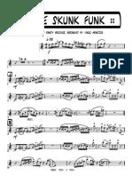 01 - Some Skunk Funk - Soprano Sax