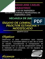 08 ENSAYO DE COMPACTACIÓN PROCTOR ESTANDAR Y MODIFICADO.pptx