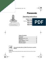Panasonic-cordless User Manual
