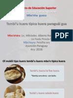 tembi`u paraguai